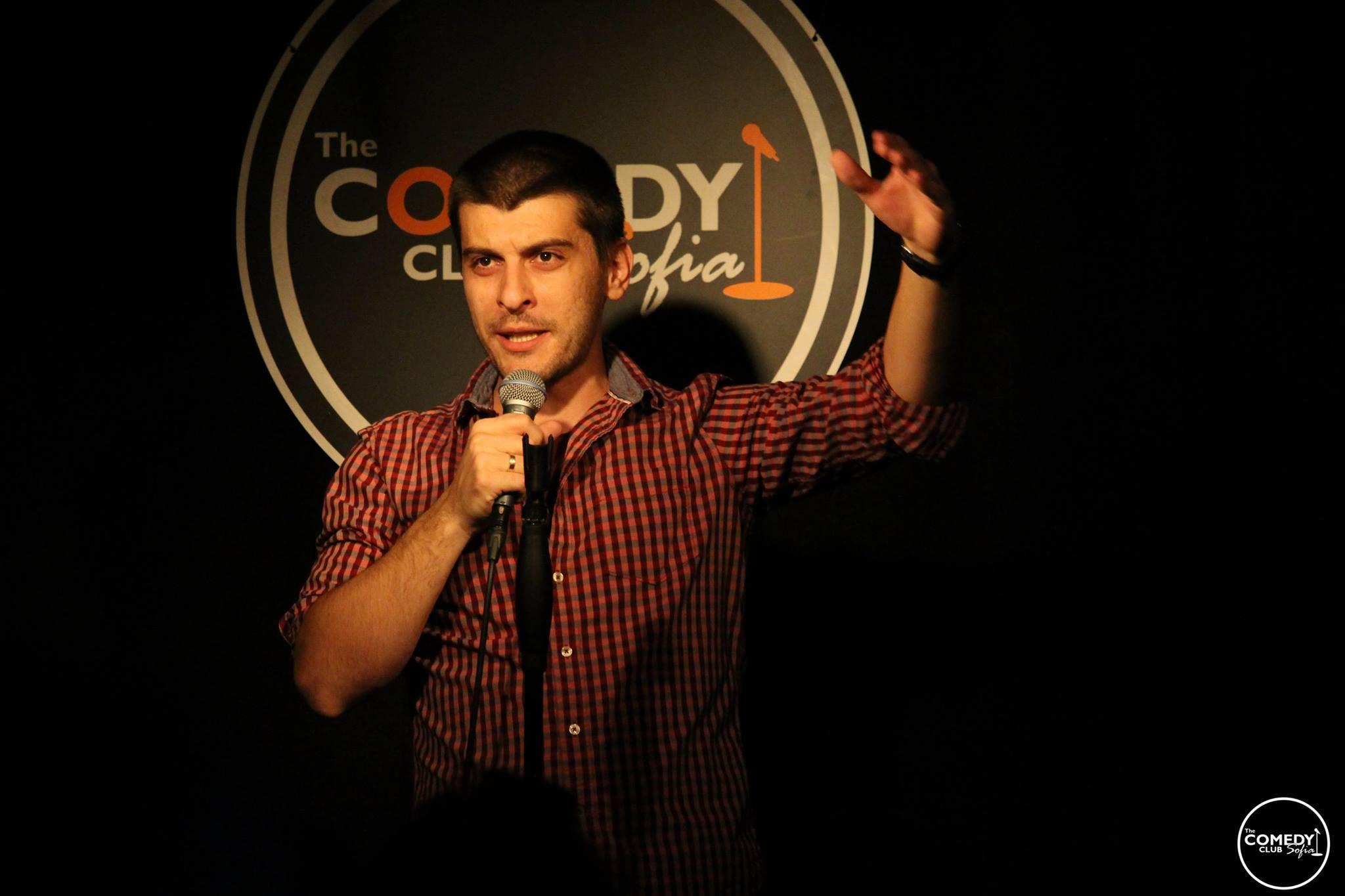 Stand up Comedy Sofia Alexander Deyanski