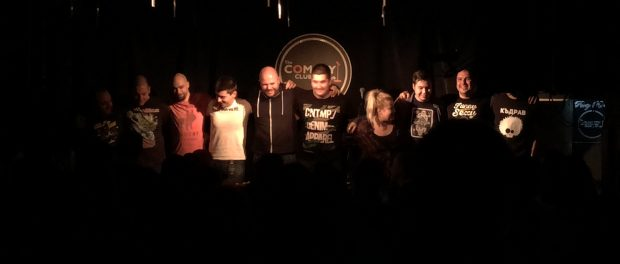 stand-up comedy with the Comedy Club Sofia