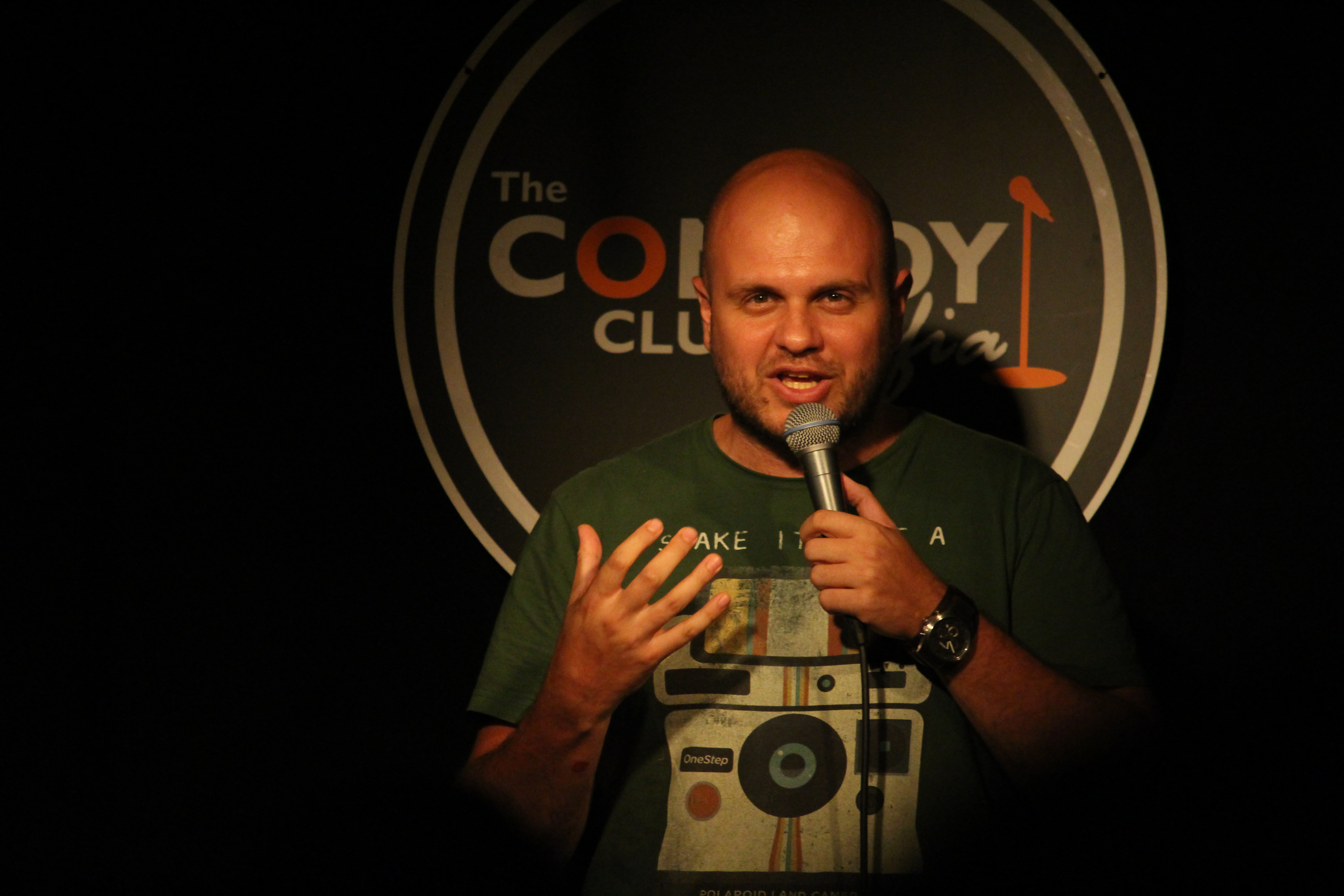 stand up comedy иван кирков благотворително шоу комеди клуб софия