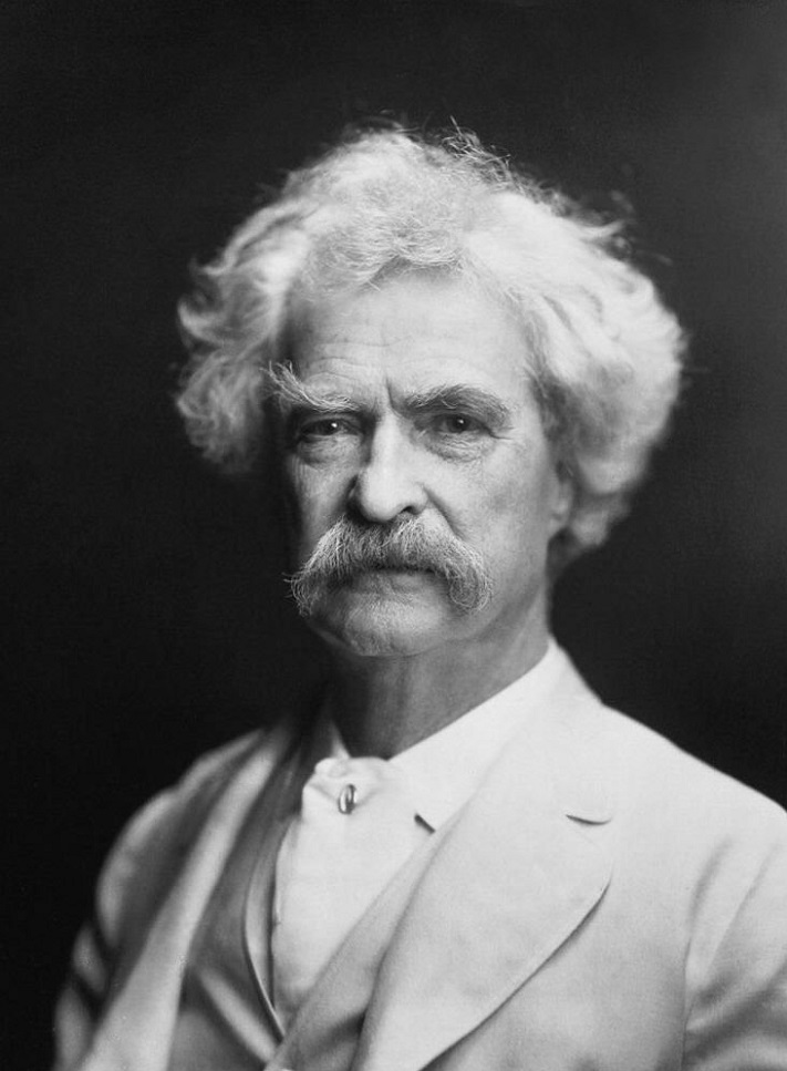 stand up comedy with Mark Twain