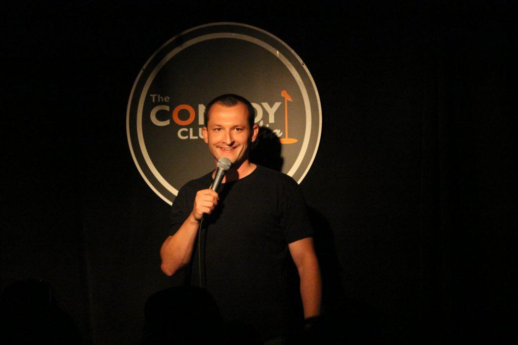 stand up comedy with Nikola Todoroski.