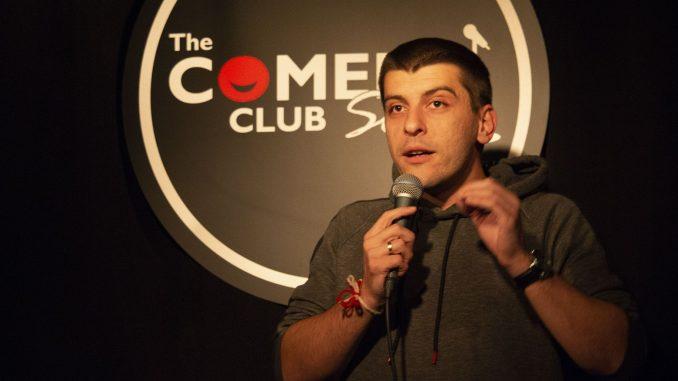 Александър Деянски stand up comedy